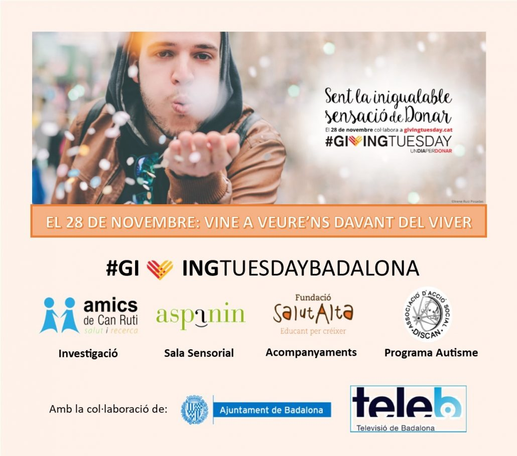 Giving tuesday badalona